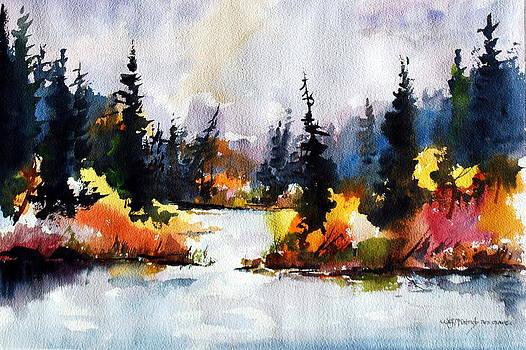 Autumn Attitude by Wilfred McOstrich