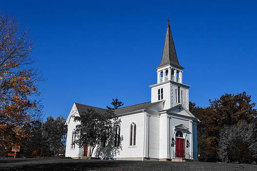 Autumn Church by Jim Wilcox