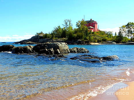 McCarty's Cove Beach by Jaunine Roberts