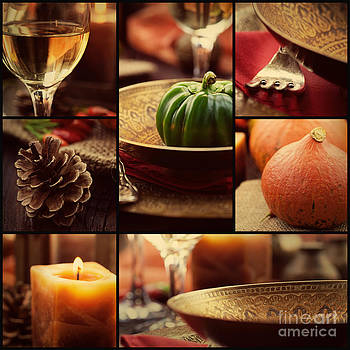 Mythja  Photography - Autumn dinner collage