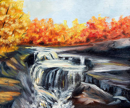 Autumn Falls by Meaghan Troup