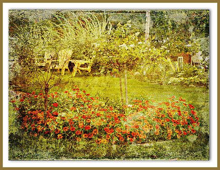 Autumn Garden by Dianne  Lacourciere