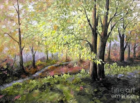 Autumn glow by Al Hunter