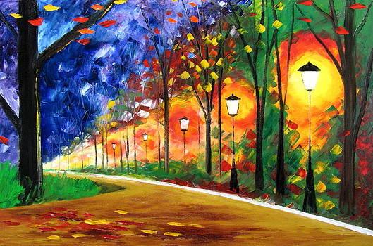 Autumn in my heart by Mariana Stauffer