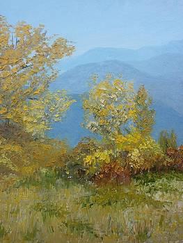 Autumn in the Crimean foothills by Yaroslav Kuvshinov