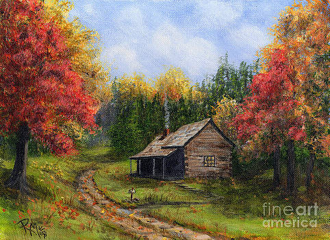 Autumn In The Mountains  by Rita Miller
