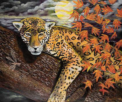 Autumn Jaguar by Jacqueline Martin