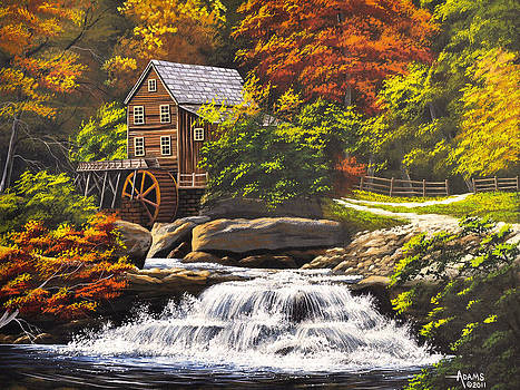 Autumn Mill by Gary Adams