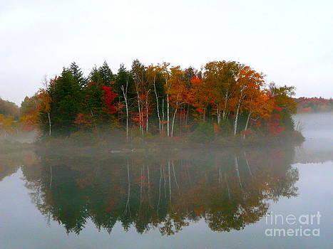 Autumn Mirror by Avis  Noelle