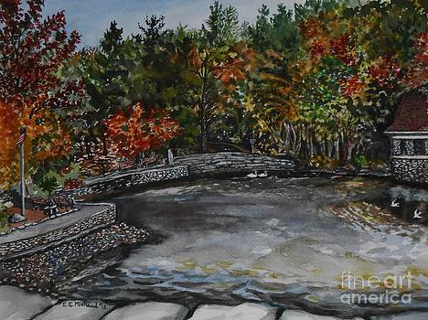 Autumn Morning at the Park by Emily Michaud