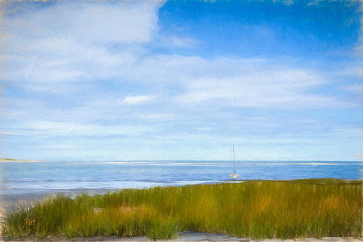Autumn On Cape Cod Bay by Michael Petrizzo