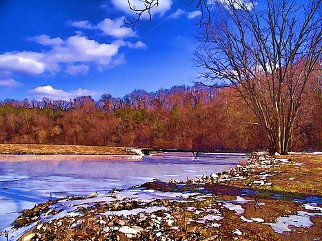 Autumn on the Niangua by Julie Grace