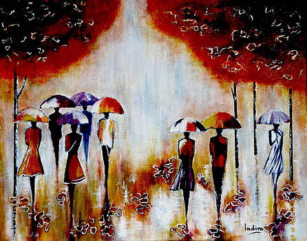 Autumn Rain by Indira Mukherji