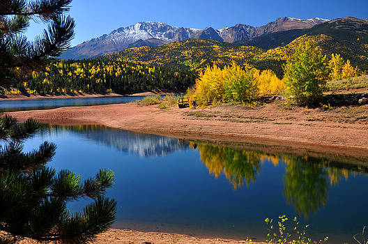 Autumn Reflections at Crystal by John Hoffman