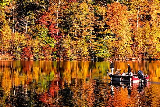 Autumn Reflections by Mark Cranston