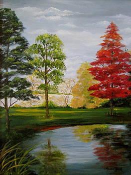 Autumn Reflections by Martha Efurd