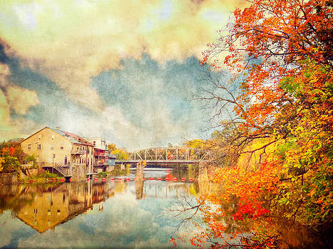 Autumn Reflections by Tracy Munson
