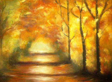 Autumn Rhapsody  by Marina Hanson