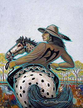 Autumn Rider by Carlos Sandoval