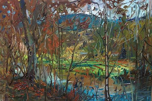 Autumn River Bank by Kyle Buckland