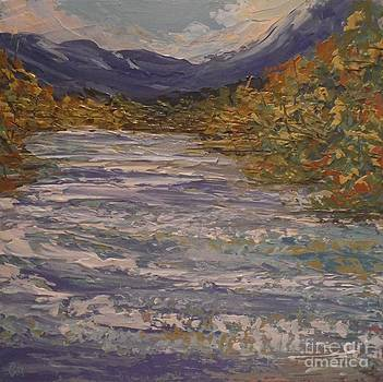 Autumn Shimmer by Beverly Belanger