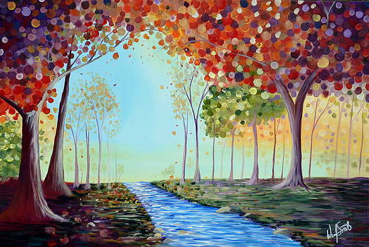 Autumn Stream by Wendy Smith