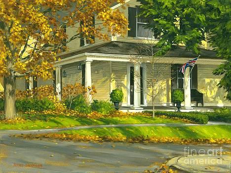 Autumn Sunlight II 18 x 24 by Michael Swanson