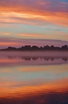 Autumn Sunrise - Portrait by William Bartholomew