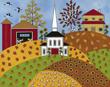 Autumn Tapestry by Medana Gabbard