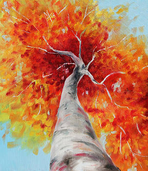 Autumn Tree by Meaghan Troup