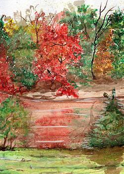 Autumn trees by Aline Reolon