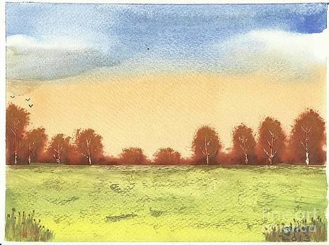 Autumn Woodlands 2 by John Williams