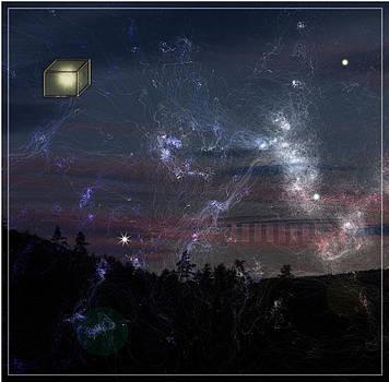 Aux portes de la nuit by Gerard Jacques Odot