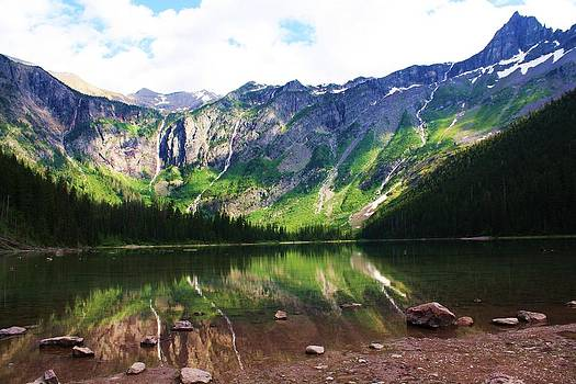 Avalanche Lake by Daniel Rooney