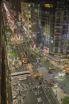 Avenue of The Americas by C W Edwards