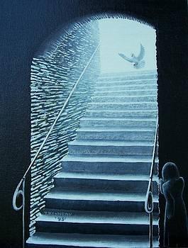 Awakening By A Dove by Thomas F Kennedy
