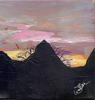 Marcia Weller-Wenbert - AZ Mountain Sunrise