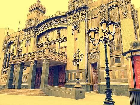 Azerbaijan State Opera and Balet Theatre by Georgeta  Blanaru