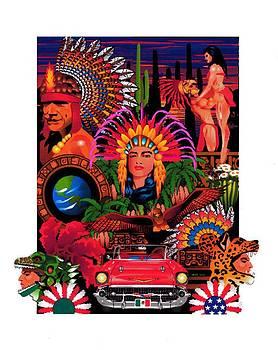 Aztec Prinsess by Dwain Morris