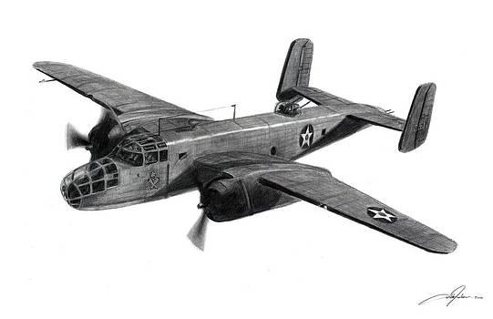 Dale Jackson - B-25B The Ruptured Duck