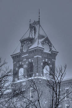 B W Mill Building  by Mike Berry