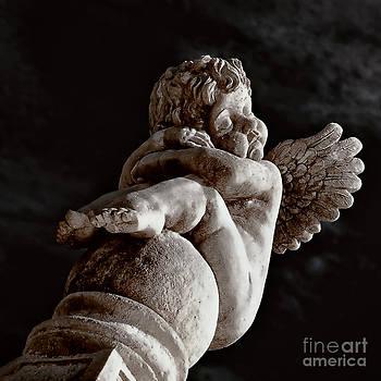Kathleen K Parker - Baby Angel Statue New Orleans
