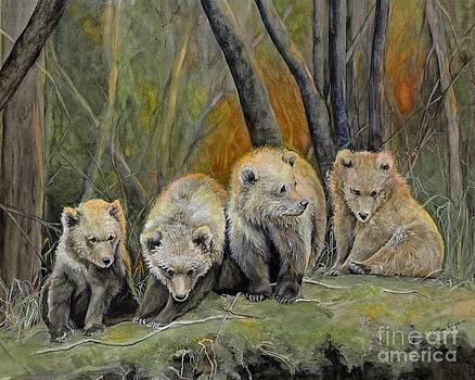 Baby Bears by Nonie Wideman