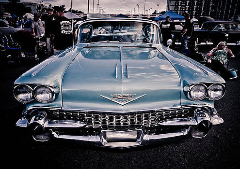 Baby Blue Cadillac by Merrick Imagery