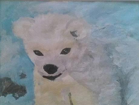 Baby Polar Bear by Kendya Battle