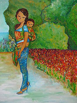 Baby Wearing in the Green by Gioia Albano