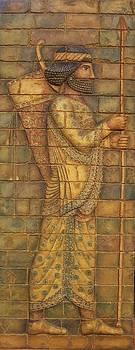 Babylonian Archer I.  by Jose Manuel Solares