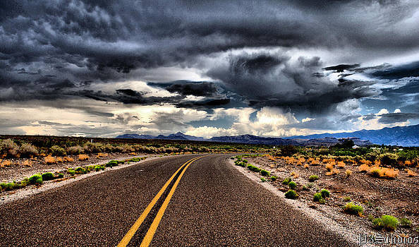 NM Backroad by Corvus Alyse