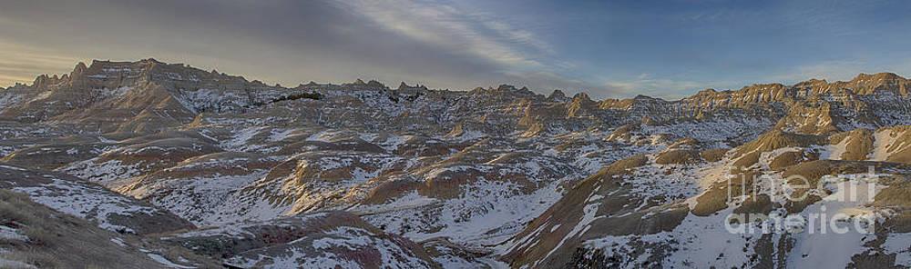 Badlands Sunrise by Steve Triplett