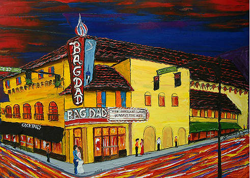 BagDad Theatre 2 by Portland Art Creations